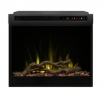 28-in 1500W LED Plug-in Electric Firebox, Driftwood