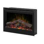 """33"""" LED Electric Fireplace, Self-trimming"""