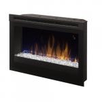 """25"""" LED Electric Fireplace, Acrylic Ice"""