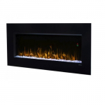1240W Nicole LED Electric Fireplace, Wall-Mount