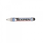 3/32-in TEXPEN Industrial Paint Marker w/Medium Tip, White