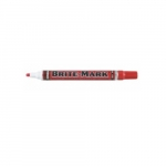 Brite-Mark Acrylic Paint Markers w/Medium Tip, Red