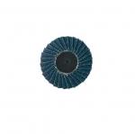 3-in Locking-Type Flap Disc, 40 Grit, Alumina Zirconia
