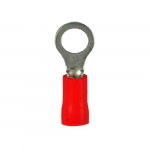 Electrical Ring Terminal, #22-18 AWG, Red