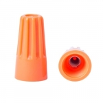 WingGard Wire Connector, Orange, 500 Pack
