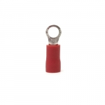 8 AWG 0.25-in Tab Ring Terminal, Red