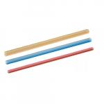6-in Dual Wall Heat Shrink Tubing, .250-.100, 16-14 AWG, Blue