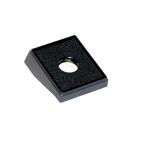 1-Hole Black Switch Panel