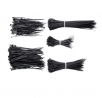 """Black 4"""", 6"""", & 8"""" Cable Ties"""