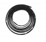 8 FT Black Polyolefin Heat Shrink Tubing Roll