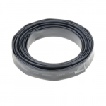 8-ft Heat Shrink Tube, 0.25 Diameter, Black