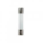 1/4-in X 1-1/4-in Glass Tube Fuse, 2.5 Amp, 250V, Bulk