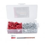 """1/4"""" Plastic Conical Anchor Kit"""