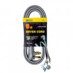6 FT 30 Amp SRDT Grey Dryer Cord