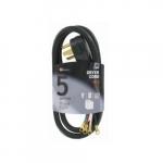 5 FT 30 Amp SRDT Black Dryer Cord