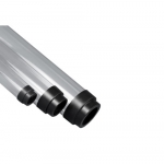 4 ft T12 Clear Tube Guards