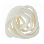 10-ft Split Flex Tube, .38-in Diameter, White
