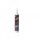 12 oz Fire-Gard Caulk Sealant, 10 pack, Red
