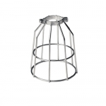 Galvanized Metal Bulb Cage