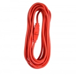 25 ft Orange 14/3 SJTW Triple Tap Extension Cord