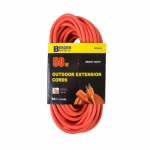 50-ft Extension Cord, Orange