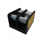 Power Distribution Block, 2 Pole, 4/0-6 & 4-14 AWG