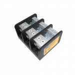 Power Distribution Block, 3 Pole, 2/0-12 & 2-14 AWG