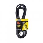 9-ft Power Supply Cord, 16/2 Straight Plug, Black