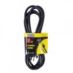 9 ft Black Straight Plug 16/3 Power Supply Cord
