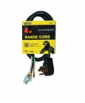 4 ft Black SRDT 6/2 & 8/2 Range Cords