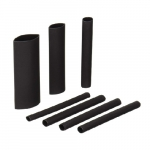 3-in Assorted Electrical Heat Shrink Tubing, Black