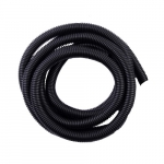 10-ft Split Loom Flex Tubing, 0.38-in Diameter, Black