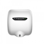 Xlerator ECO Automatic Hand Dryer, No Heat Element, White BMC, 277V