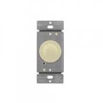 Light Almond 3-Speed Rotary Fan Control