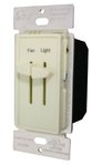 White Single Pole Incandescent Slide Dimmer Control
