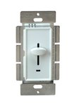 Ivory Three-Way Back Light Incandescent Slide Dimmer Control