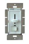 Ivory 3-Way Back Light Incandescent Slide Dimmer w/ Switch