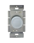 Ivory Single Pole Incandescent Full Range Rotary Dimmer Control