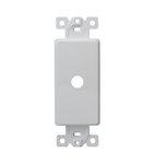 Ivory 1-Gang Plasic Shaft Decorator Adapter Dimmer