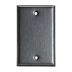 Stainless Steel 1-Gang Blank Metal Wall Mounted Plate