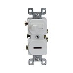 Brown Combination Two Single-Pole Side-Wired Only 15A Switches
