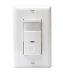 Ivory 3-Way PIR Occupancy Sensor Decorator Wall Switch
