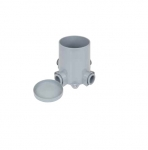 """6"""" Commercial Grade Non-Metallic PVC Junction Box"""