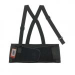 ProFlex® 1650 Back Support w/ Suspenders, Small, Black