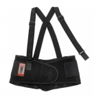 ProFlex® 2000SF Back Support w/ Suspenders, Extra Large, Black
