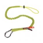 Squids® 3100 Tool Lanyard w/ Carabiner, 10 lb Capacity, Lime