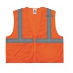 GloWear® 8210Z Type R Class Safety Vest, S/M, Orange