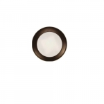 4-in 10W Round LED Disk Light, Dimmable, 650 lm, 120V, 3000K, Bronze