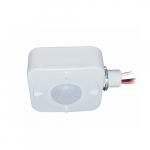 On/Off Occupancy Sensor for High Bay, Up to 2826 Sq Ft, 120-277V, White