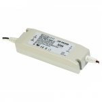 30W LED Driver w/ Single Output, Non-Dimmable, 100-277V, .63 Amp, AC/DC